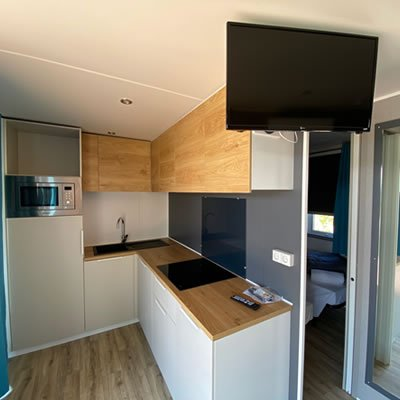 campeggio cuneo cottage con cucina