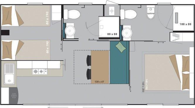 piantina della casa