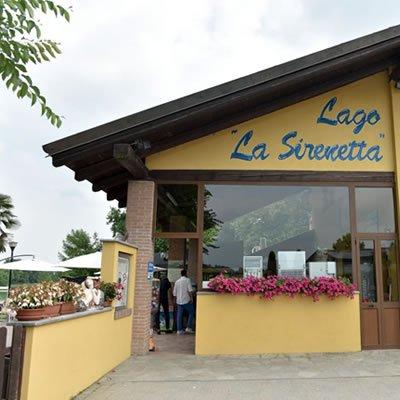 ristorante lago la sirenetta