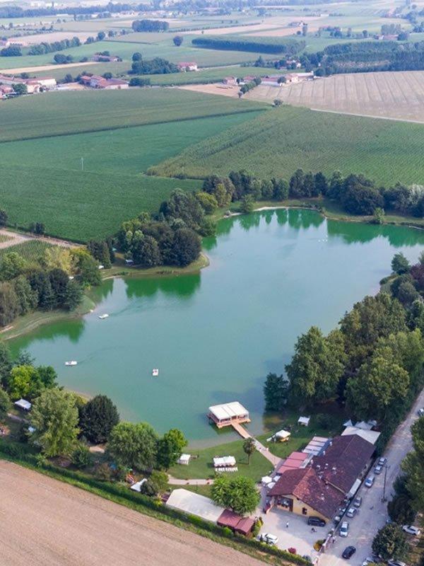lago la sirenetta ristorante veduta aerea